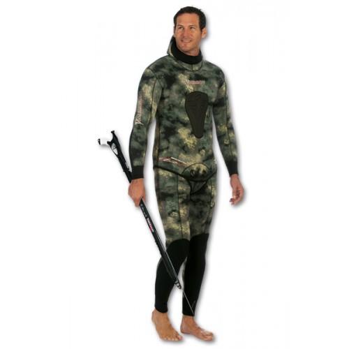Combinaison Imersion Sériole camo (veste 7 mm + pantalon haut 5 mm)