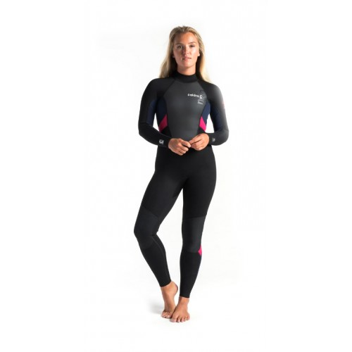 Combinaison de surf Femme C.Skins Element 3/2 mm (Slate/Coral)