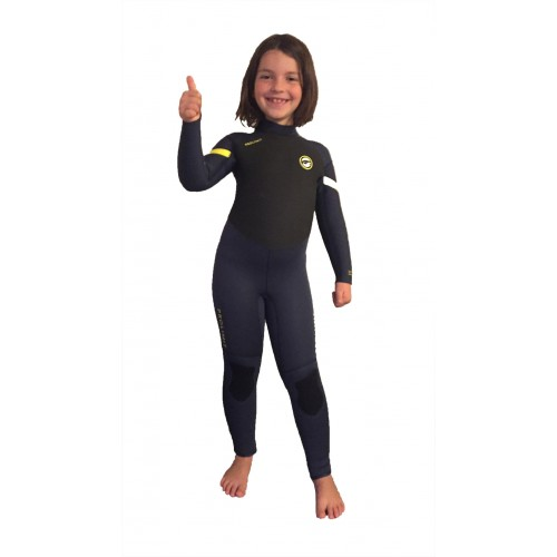 Combinaison de surf enfant Prolimit Grommet 5/3 mm (Noir/Jaune)