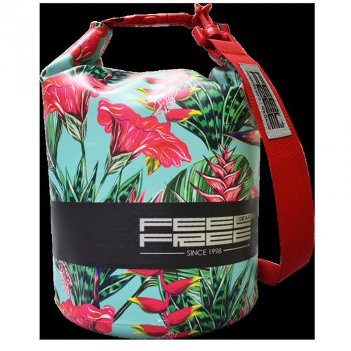 Sac Etanche Feelfree Mini Tube Teal Tropical (3L.)