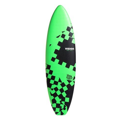Planche de surf en mousse Vision 6'0 Foam Flyer + Leash