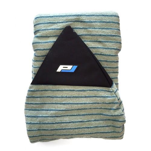 Housse de surf chausette Pro-Lite 6'3 (Rayée Bleu/Gris)