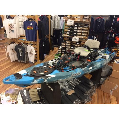 Kayak de pêche Feelfree Lure 11.5 à pédales et moteur Overdrive + MotorDrive Occasion