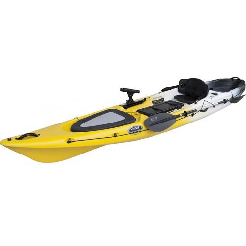 Kayak RTM Abaco 420 Standard Big Bang (+ Pagaie + Siège Hi-confort) (Couleur Wasp: Gris et Jaune)
