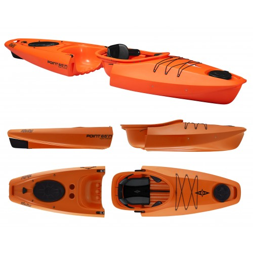 Kayak démontable Point 65 Martini GTX 1 place (Orange)