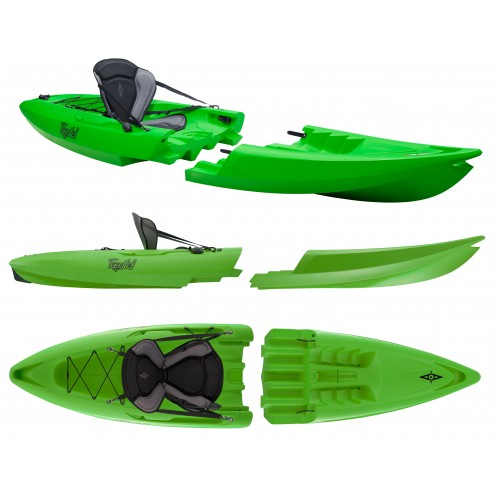 Kayak démontable Point 65 Tequila GTX Solo (Vert)