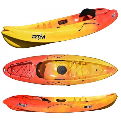 Kayak RTM Makao Confort (Couleur Soleil : Jaune et Orange)