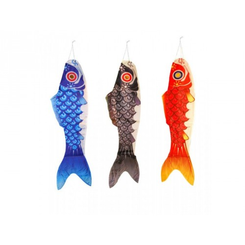 Manche à air Carpe Koi Fish (Bleu)