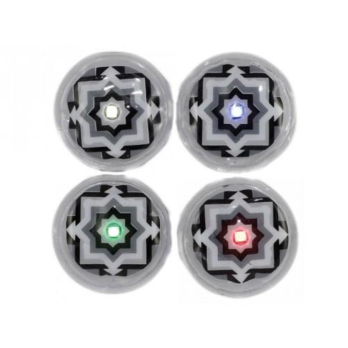 Led à coller LEDKNDY à bouton (vendus par 4) Disco