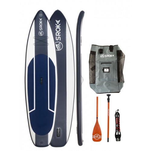 Paddle gonflable Sroka Pack Easy 11'6 + leash + pagaie