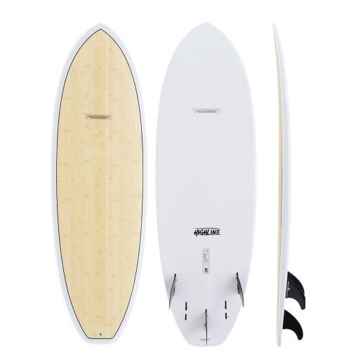 Planche de surf Global Surf Industries Modern Highline X2 6'2 (Bamboo)