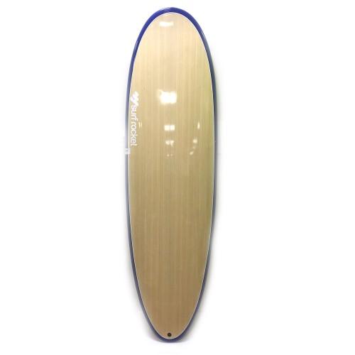 Planche de surf Surf Rocket Egg 7'0 Mountain (Wood/bleu)