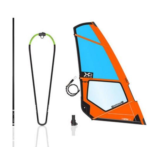 Gréément complet Exocet XO Sails Swing 3.5 m ² (Pentex)