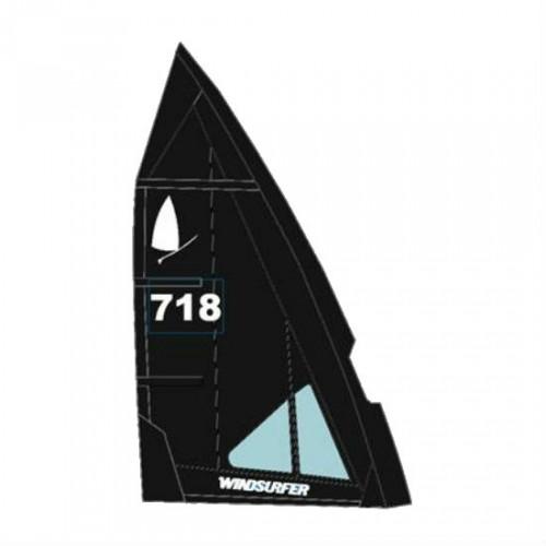 Voile Windsurfer LT 5.7 m² (Full Black : Noir)