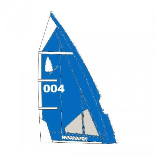 Voile Windsurfer LT 5.7 m² (Full Blue : Bleu)