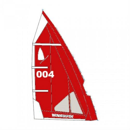 Voile Windsurfer LT 5.7 m² (Full Red : Rouge)