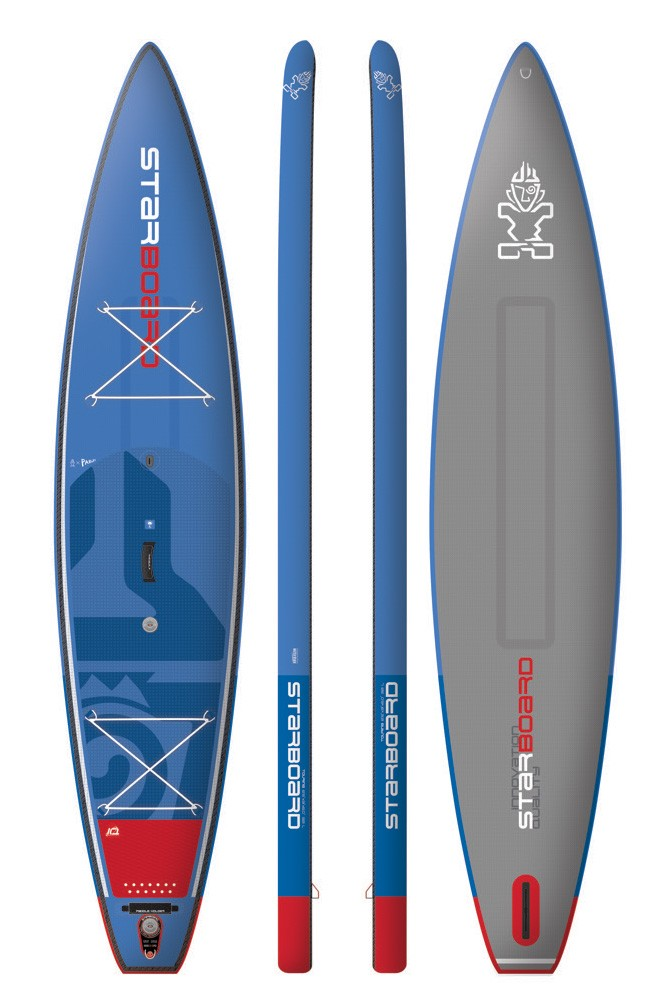 Paddle gonflable Starboard Touring Deluxe 14'6 x 31 x 6 (Homologué mer Division 245) 2018