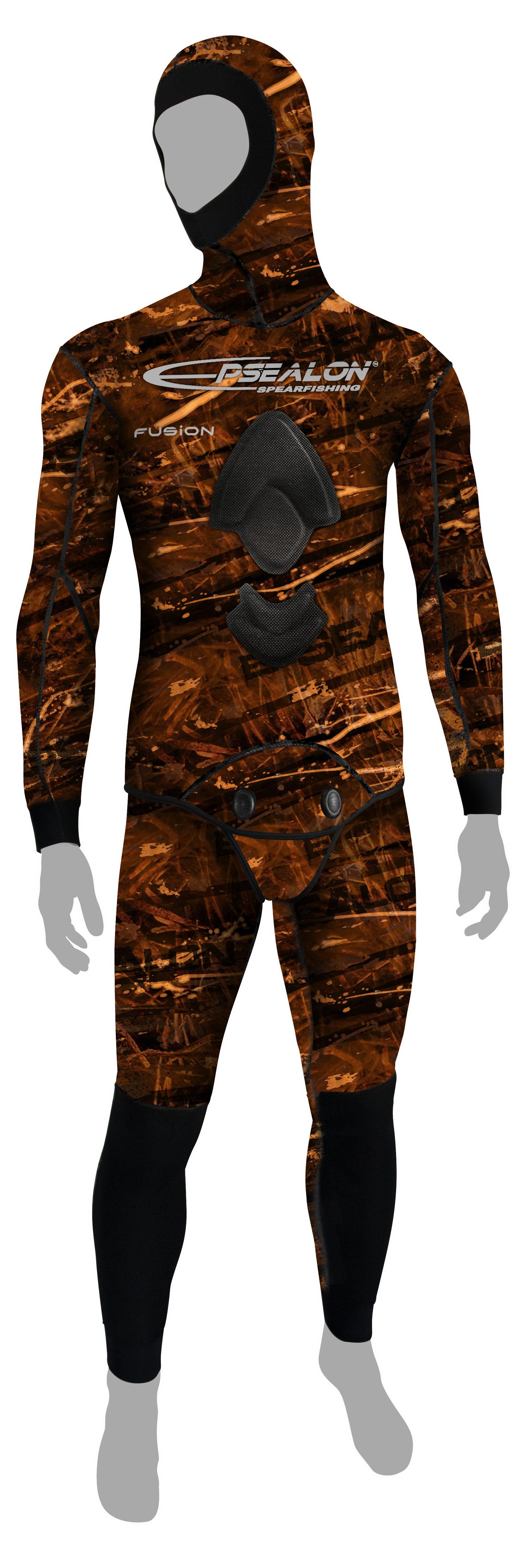 Combinaison Epsealon Brown Fusion  (Veste 7 mm + pantalon 5 mm)