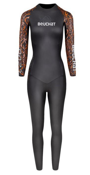 Combinaison de nage et de triathlon Femme Beuchat Crawl C200