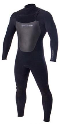 Combinaison de surf Ocean & Earth Double Black 4/3 mm (Frontzip)