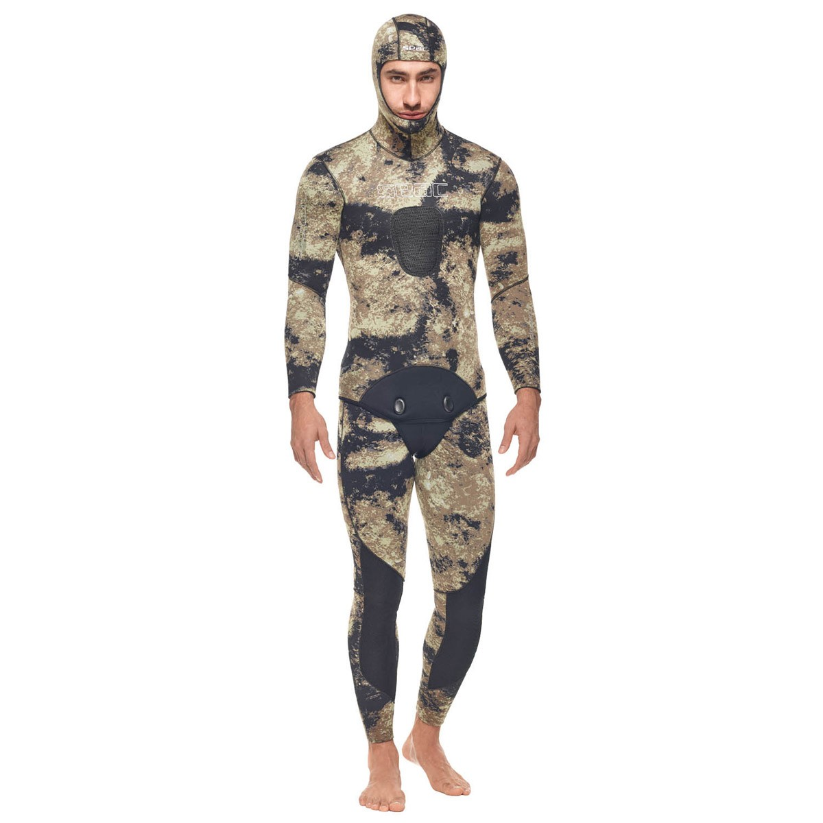 Combinaison Seac Murena Brown (Veste 5mm + pantalon 5mm)