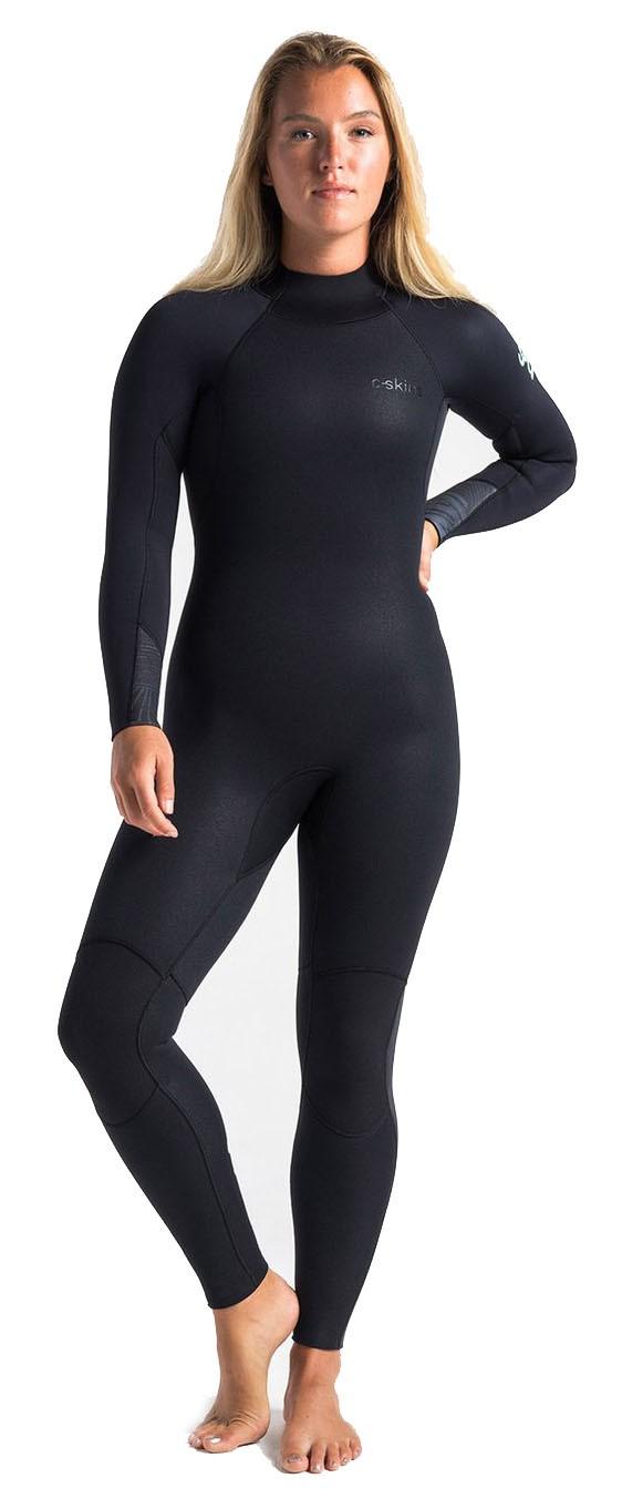 Combinaison de surf Femme C-Skins Surflite 5/4/3 mm (Raven Black)
