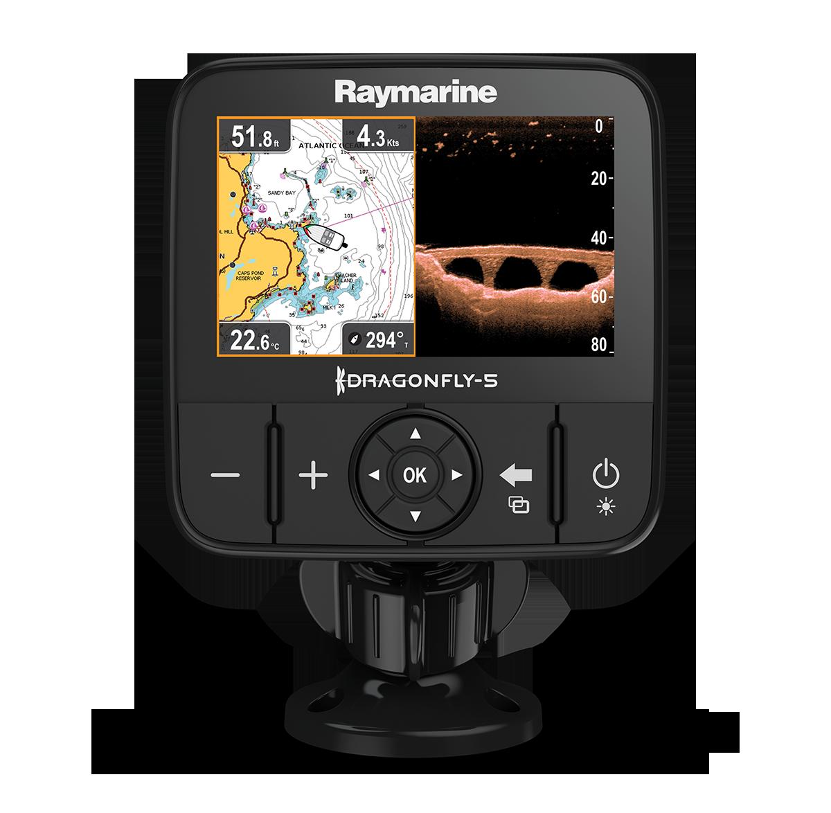 Sondeur Raymarine DragonFly 5PRO