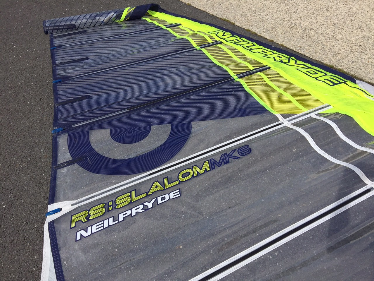 Voile NeilPryde RS Slalom MK6 7'8 occasion