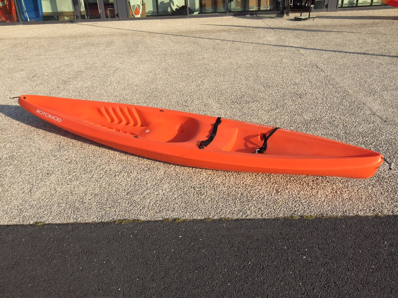 Kayak occasion Rotomod Explorer (Vert) + dosseret