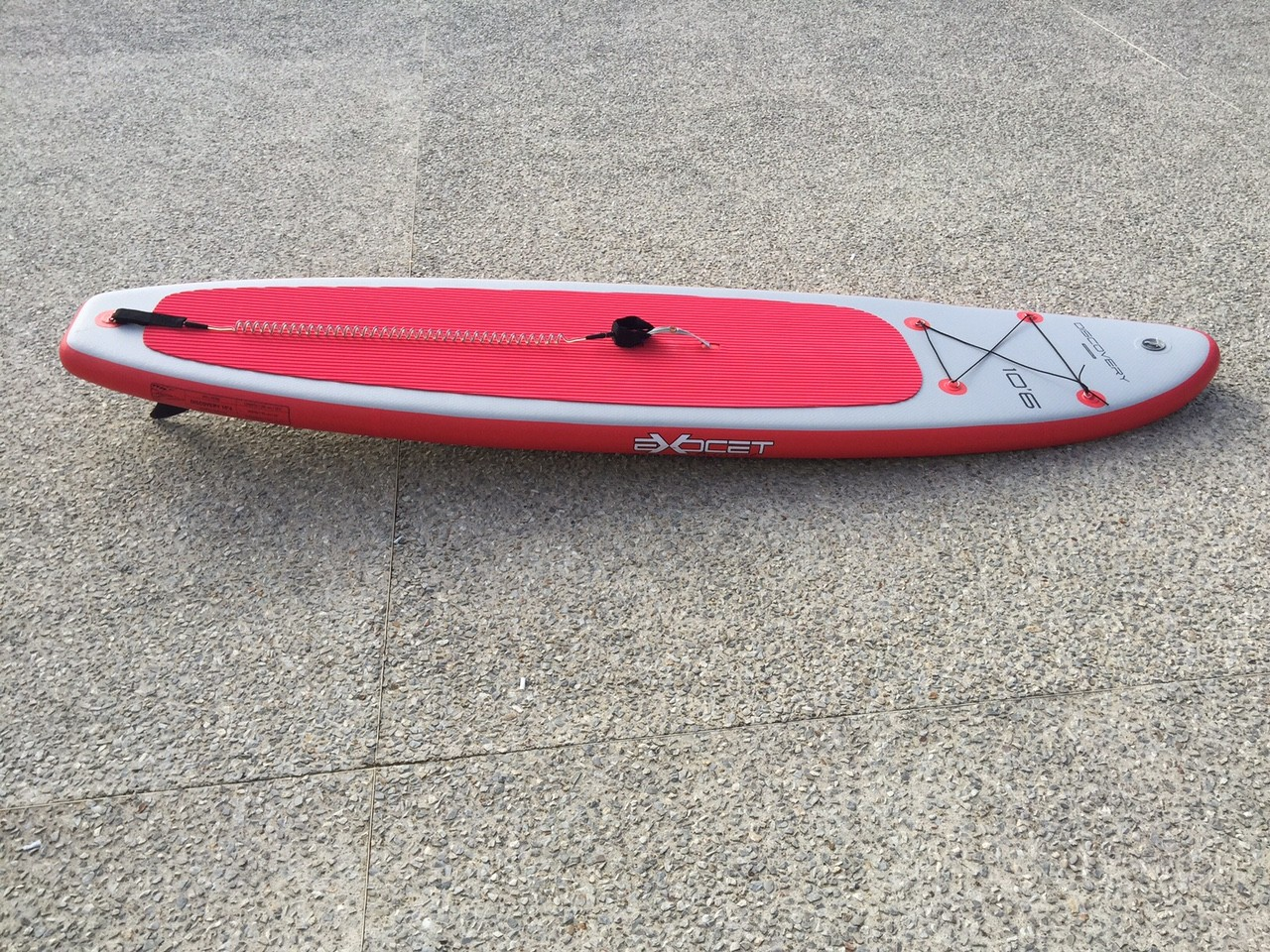 Paddle gonflable Exocet Discovery 10'6 occasion