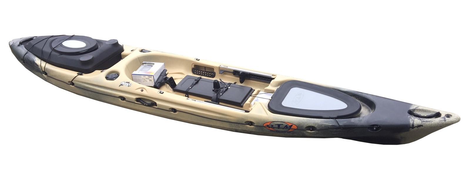 Kayak RTM Abaco 420 Luxe + Hitech Sondeur X4 (Marbre)