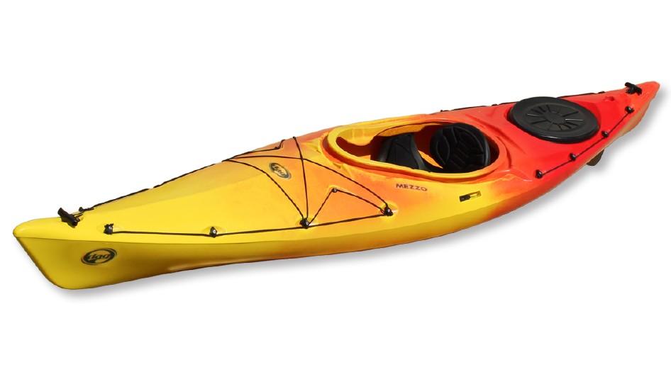 Kayak DAG Mezzo SK Luxe avec dérive (Couleur : Soleil)