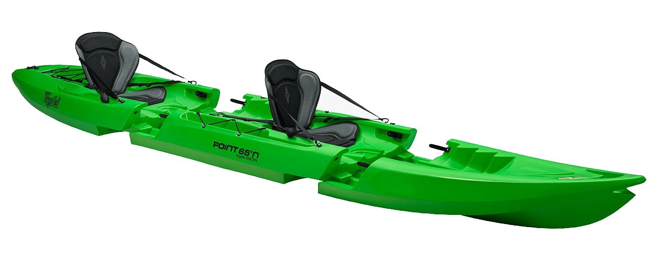 Kayak démontable Point 65 N Tequila GTX Tandem Duo (Vert)