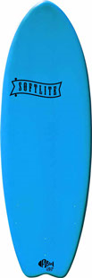 Planche de surf en mousse Softlite 5'2 Fish (Bleu)