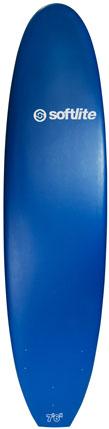 Planche de surf en mousse Softlite 7'6 Classic (Bleu)