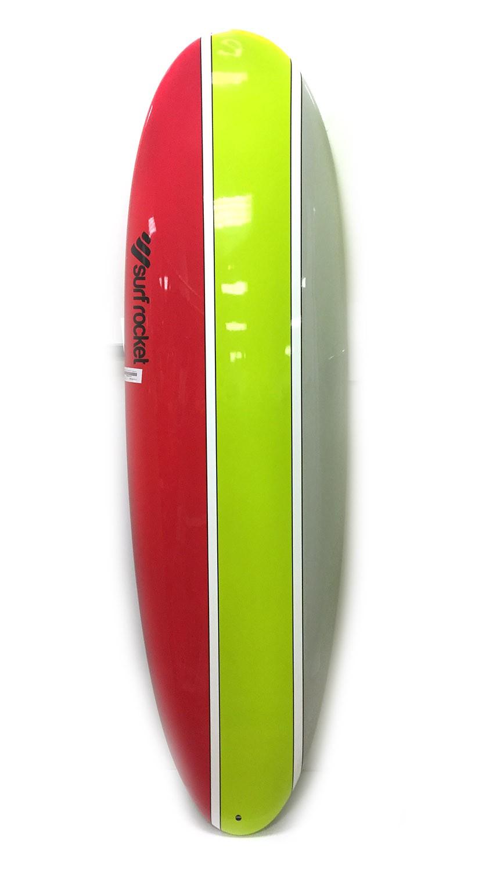 Planche de surf Surf Rocket Egg 7'0 Mountain (Rouge/vert/gris)