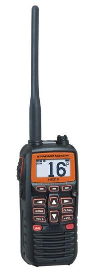 VHF Standard Horizon HX210e Portable + Etanche + Flottante