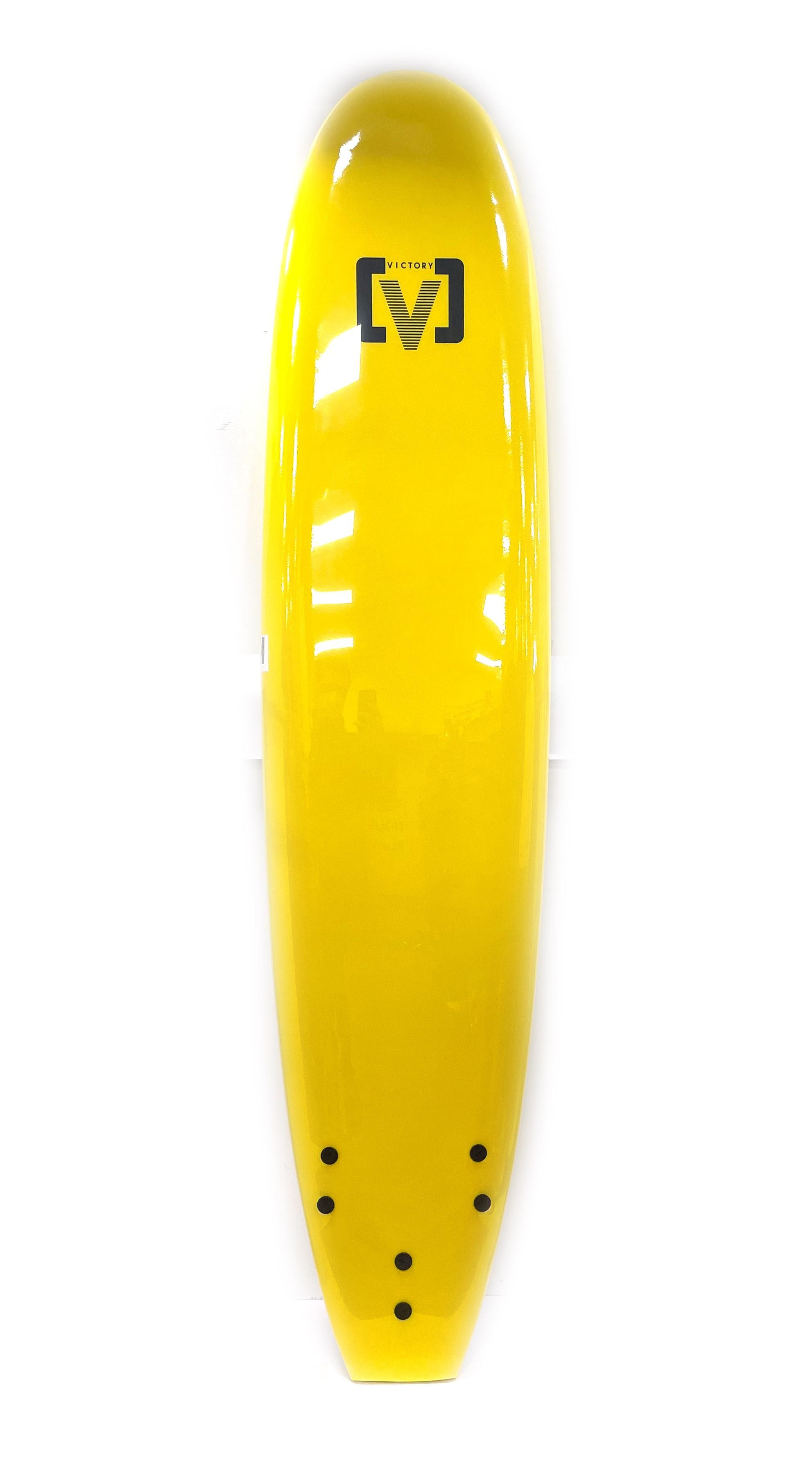 Planche de surf en mousse Victory 8'0 (Jaune)