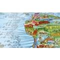 Carte du monde des spots de surf