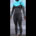 Combinaison Surf Femme Alder Reflex 5/4/3 Chest-Zip (Bleu)