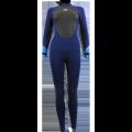 Combinaison de surf Femme Alder Stealth 5/4/3 (Bleu/Vert)