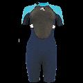 Shorty Alder Impact 3/2 femme (Bleu)