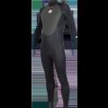 Combinaison de surf Alder Stealth 5/4/3 (Black)