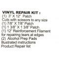 Kit de réparation Vinyl pour bouée