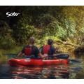 Kayak Gumotex Solar 410 2 sièges (rouge)