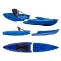 Kayak démontable Point 65 Tequila GTX Solo (Bleu)