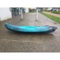 Kayak RTM Makao (Couleur Steel : Vert turquoise et noir)