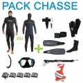Pack complet chasse sous-marine 5mm