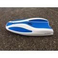 Planche de nage en mer Elvasport Finboard X3 (Blanc / Bleu)