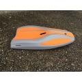 Planche de nage en mer Elvasport Finboard X3 (Gris / Orange)